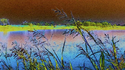 Photograph - Lake II by Donna G Smith