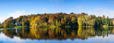 Photograph - Lake In Autumn by Colin Rayner