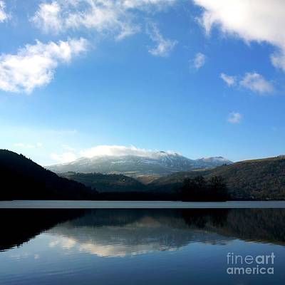 Lake In Auvergne Art Print