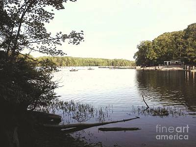 Photograph - Lake At Burke Va Park by Jimmy Clark