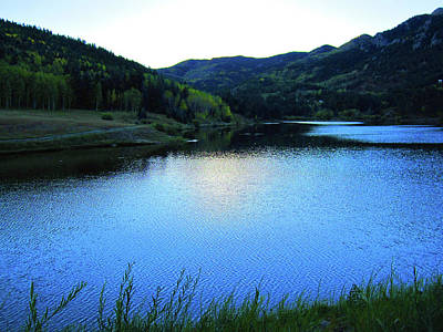 Art Print featuring the photograph Lake In Colorado by Tammy Sutherland