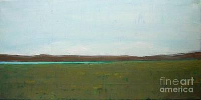 Painting - Lake In Prairie by Vesna Antic