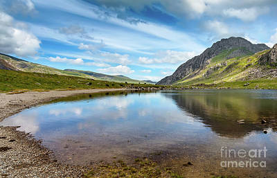Photograph - Lake In Snowdonia by Adrian Evans