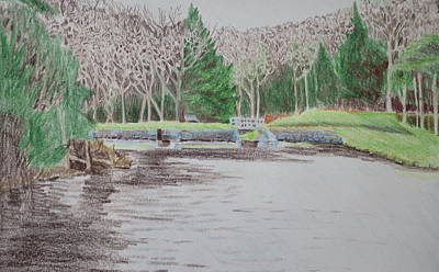 Bethany Lee Painting - Lake In The Catskills by Bethany Lee