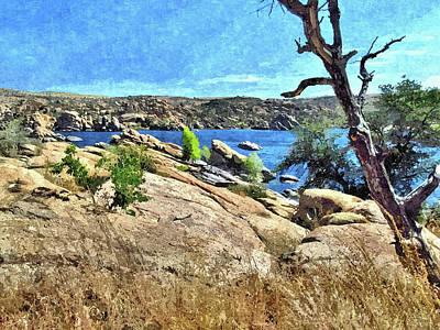 Prescott Photograph - Lake In The Dells 1 by John Trommer
