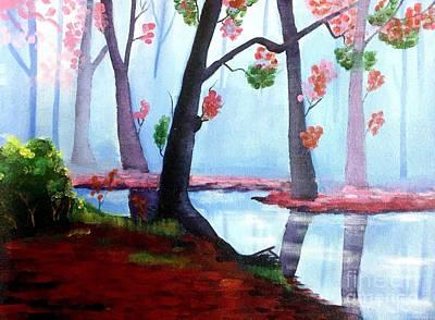Ballard Painting - Great Lakes by Nayna Tuli Fineart