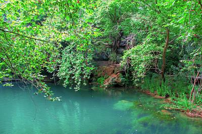 Photograph - Lake In The Kursunlu Waterfall Nature Park by Sun Travels