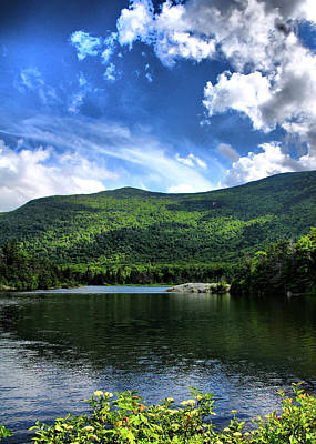 Lake In The Mountains 2 Art Print by Edward Myers