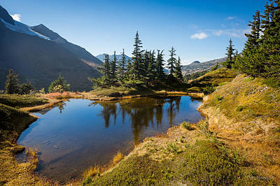 Photograph - Mountain Pond by Tim Newton