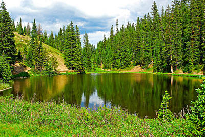 Photograph - Lake Irene Study 15 by Robert Meyers-Lussier