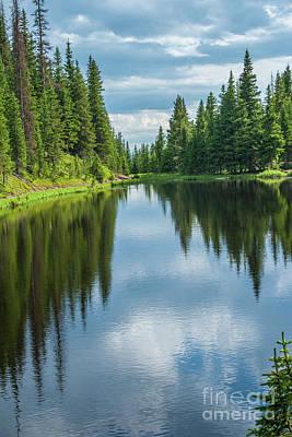 Photograph - Lake Irene by Tony Baca