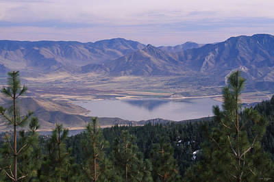 Lake Isabella Print by Soli Deo Gloria Wilderness And Wildlife Photography