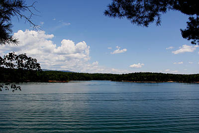 Photograph - Lake James by Allen Nice-Webb