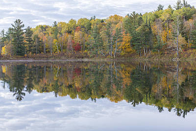 Itasca State Park Photograph - Lake Josephine In Autumn by Tim Grams