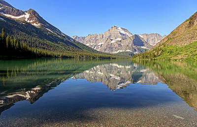 Photograph - Lake Josephine Morning by Jack Bell