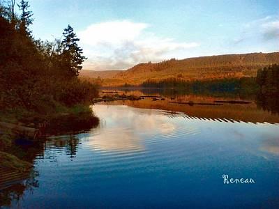 Photograph - Lake Kapowsin Wa by Sadie Reneau