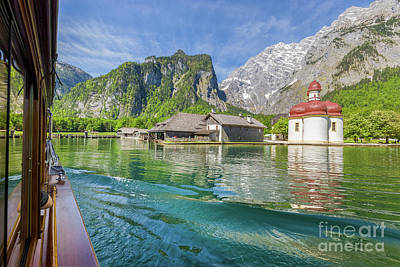 Photograph - Lake Konigssee by JR Photography