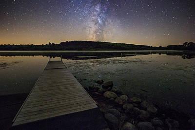 Photograph - Lake Lakota Way by Aaron J Groen