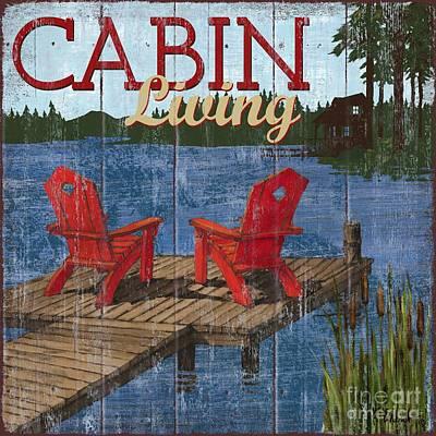 Canoe Painting - Lake Living I by Paul Brent