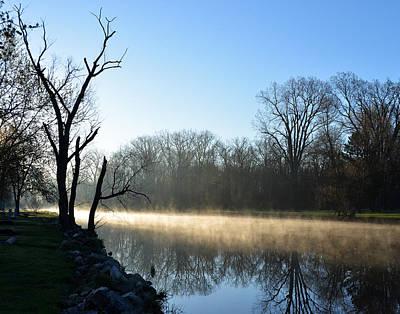 Photograph - Lake Loramie Morning by Robert Clayton