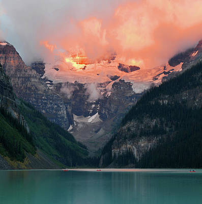 Photograph - Lake Louise 1 by Yue Wang
