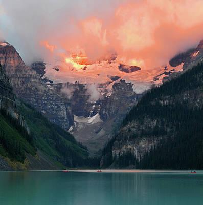 Photograph - Lake Louise 1 by Yue Wang