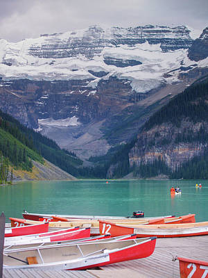 Photograph - Lake Louise by Adrian O Brien