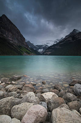 Photograph - Lake Louise, Alberta, Canada by David Stanley