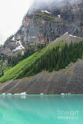 Photograph - Lake Louise Angles by Mike Reid