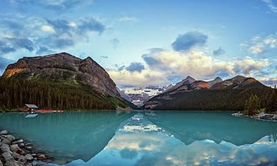 Alberta Photograph - Lake Louise Banff Alberta by Joan Carroll