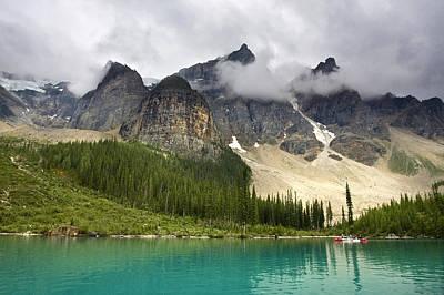 Photograph - Lake Louise Banff by Ken Barrett