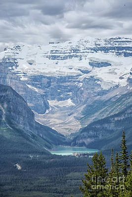 Photograph - Lake Louise, Banff National Park, Alberta, Canada, North America by Patricia Hofmeester