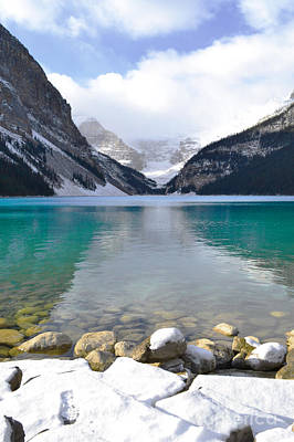 Banff Canada Photograph - Lake Louise Beauty by Andrea Hazel Ihlefeld