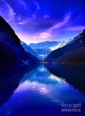 Photograph - Lake Louise Blues by Tara Turner