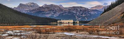 Photograph - Lake Louise Chateau Panorama by Adam Jewell