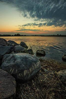 Photograph - Lake Louise Dusk  by Aaron J Groen