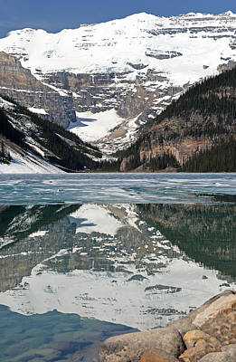 Photograph - Lake Louise by Ginny Barklow