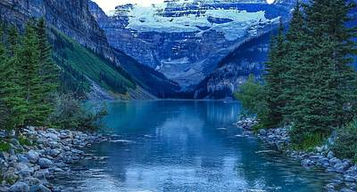 Photograph - Lake Louise by Heather Vopni