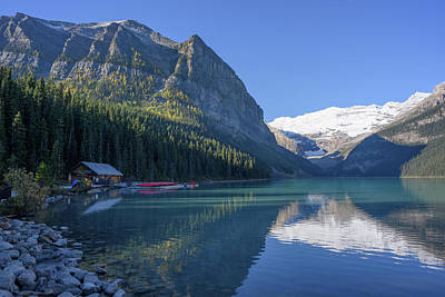 Photograph - Lake Louise by Keith Boone