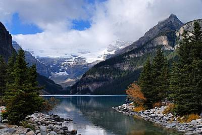 Photograph - Lake Louise by Larry Ricker