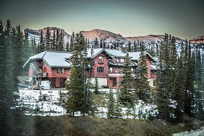 Photograph - Lake Louise Lodge by Bill Howard