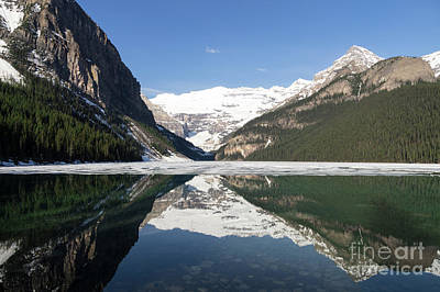 Photograph - Lake Louise by Louise Magno