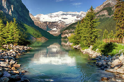 Photograph - Lake Louise by Mary Jo Allen