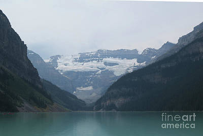 Photograph - Lake Louise by Mary Mikawoz