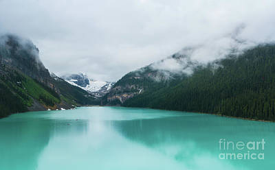 Photograph - Lake Louise Panorama by Mike Reid