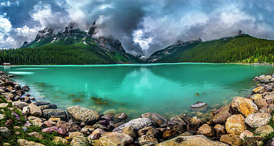 Photograph - Lake Louise by Patrick Boening