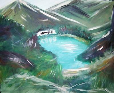 Lake Louise Art Print by Patti Spires Hamilton