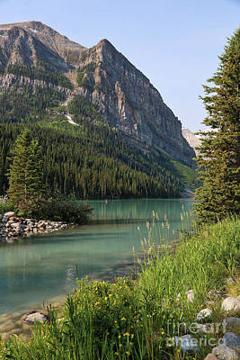 Photograph - Lake Louise Perspective 2 by Carol Groenen