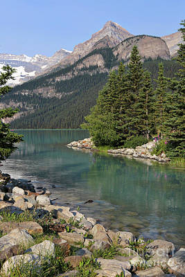 Photograph - Lake Louise Perspective by Carol Groenen