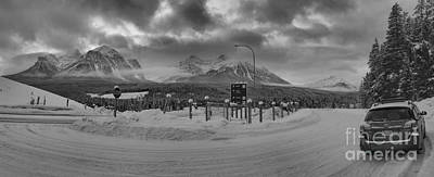 Photograph - Lake Louise Subaru Outback by Adam Jewell